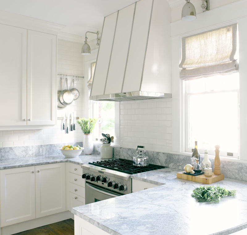 In Good Taste White Bright Kitchen