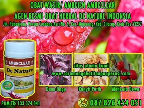 obat ambeien obat wasir tradisional