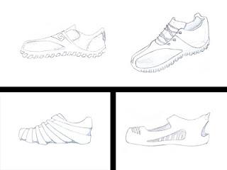 Desenhos Preto e Branco tênis para tênis Colorir
