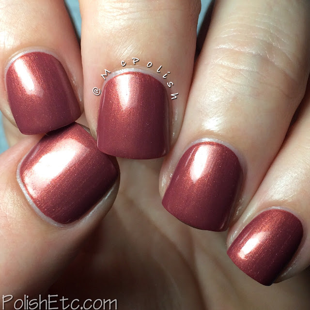 IBD Hideaway Haven Nail Lacquer - McPolish - Tranquil Surrender