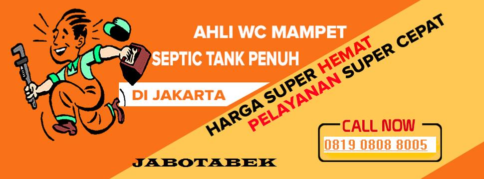 Solusi Sedot Wc Jakarta | Tangerang | Bekasi | Bogor | Cileungsi | Cibinong | Sentul