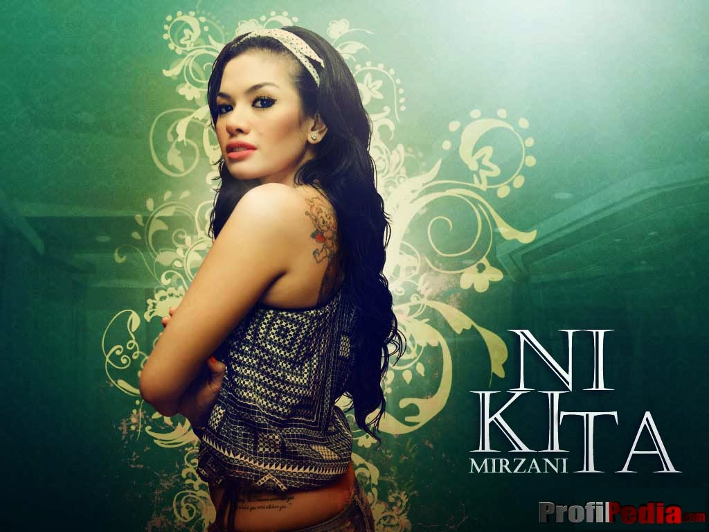 nikita mirzani tattoo wallpaper