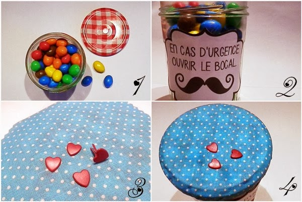 DIY cadeau de Saint Valentin en bocal