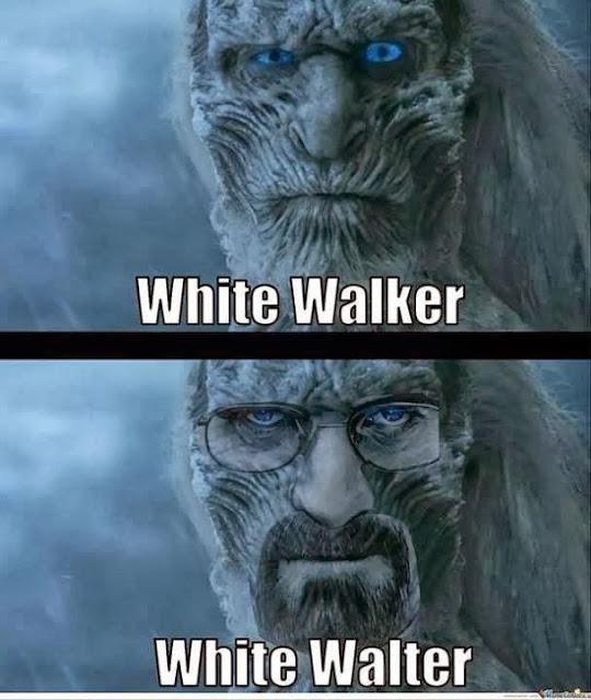 walter white caminante blanco - Juego de Tronos en los siete reinos