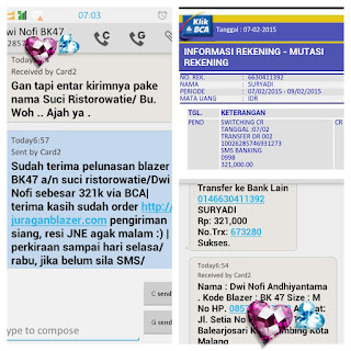 Toko Jas Pria Semarang