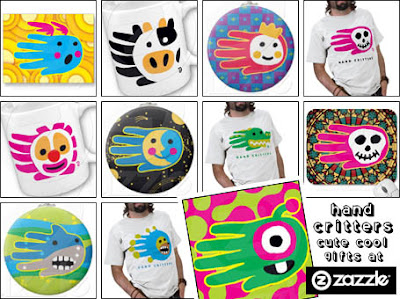 Hand Critters at Zazzle