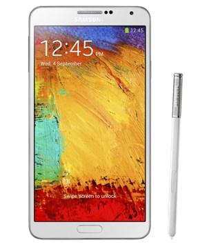 Samsung Galaxy Note III Blanco Tienda Claro Perú