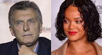 """Macri le contestó a Rihanna: """"La educación está en el centro de nuestros objetivos"""""""