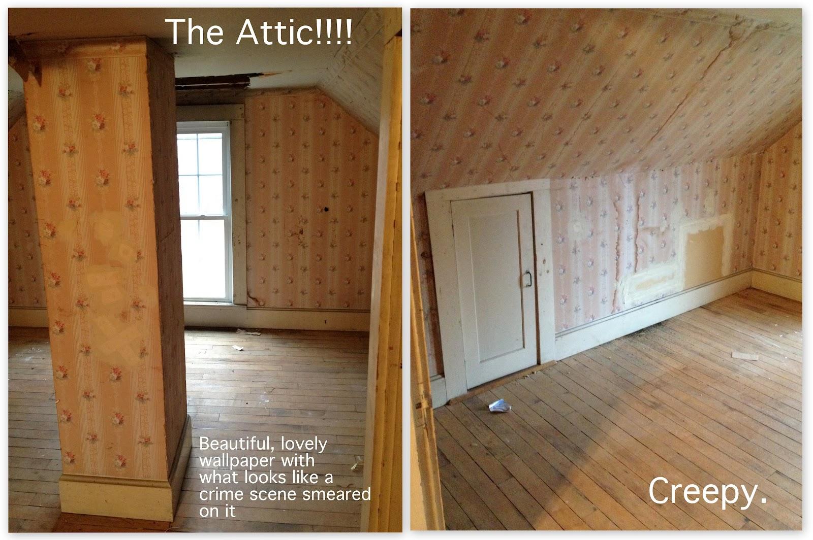 Bathroom & Attic Renovation Progress! title=
