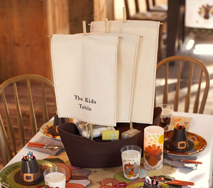 Last Year, I Was Admiring This Thanksgiving Item At Pottery Barn Kids. But  It Had A Big Price Tag. If I Remember Correctly, It Was About $50.00.