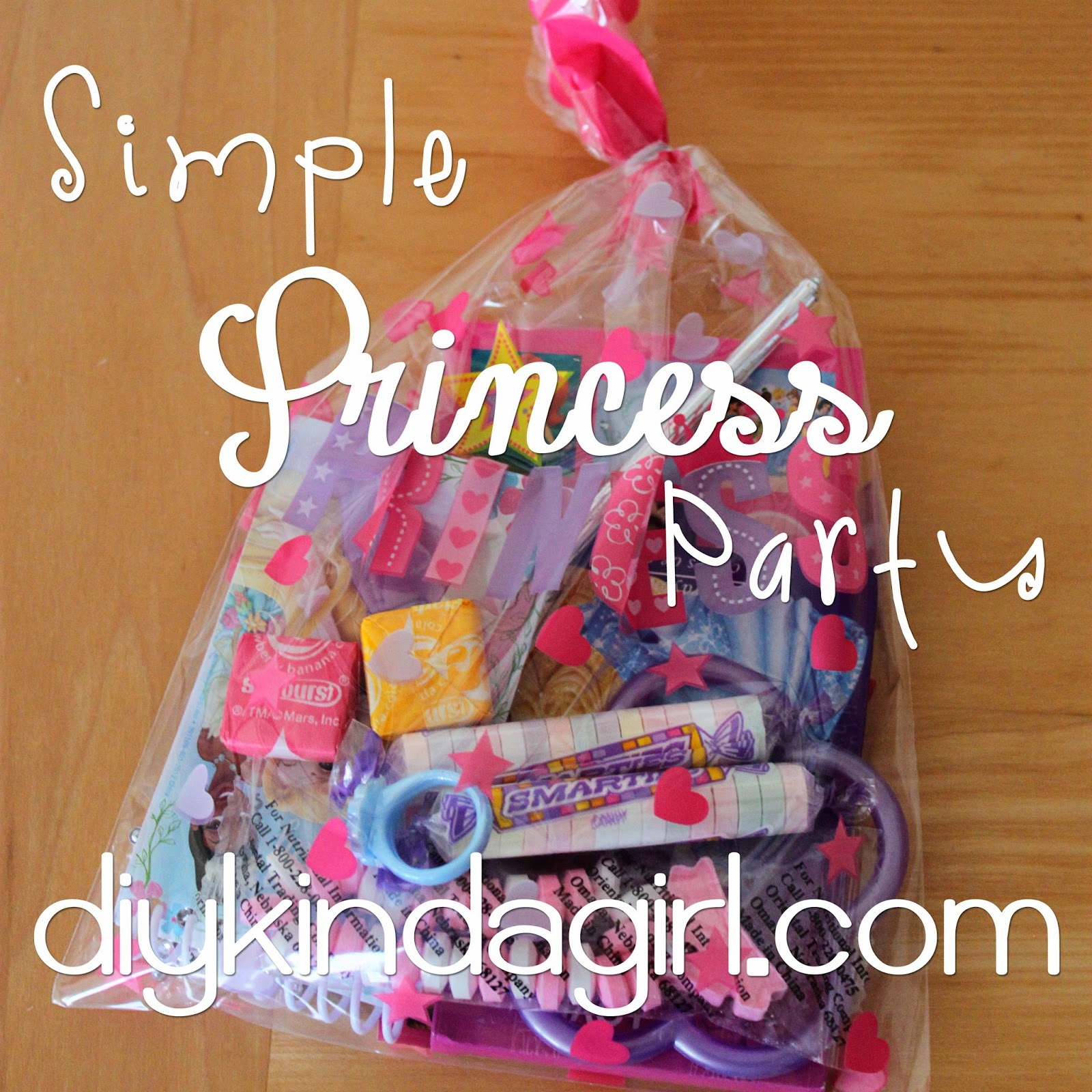 diy kinda girl: princess party