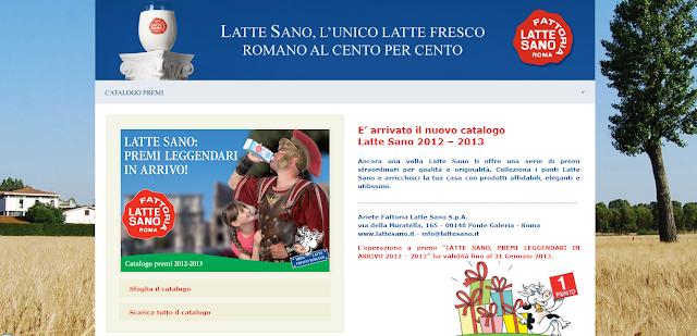 Raccolta punti Latte Sano 2012 2013