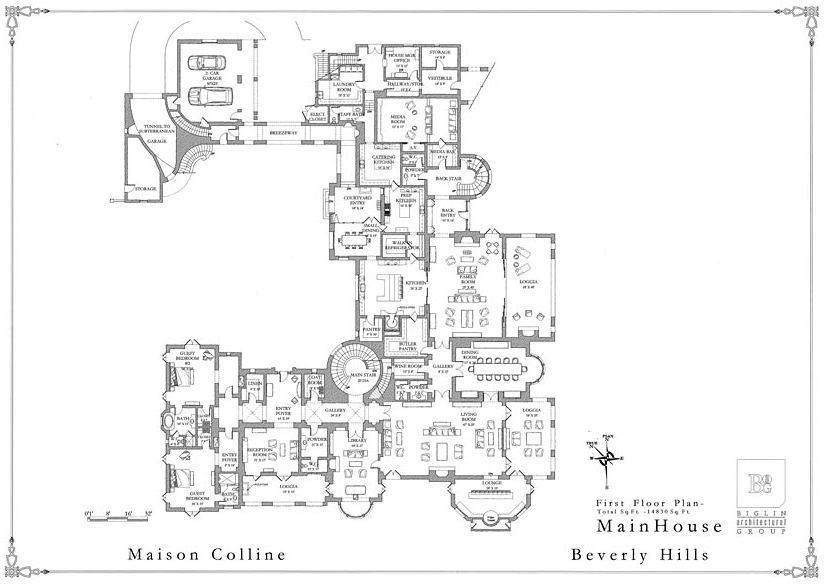 Mansions more september 2012 Mega mansion floor plans
