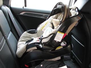 standar keselamatan jok mobil bayi