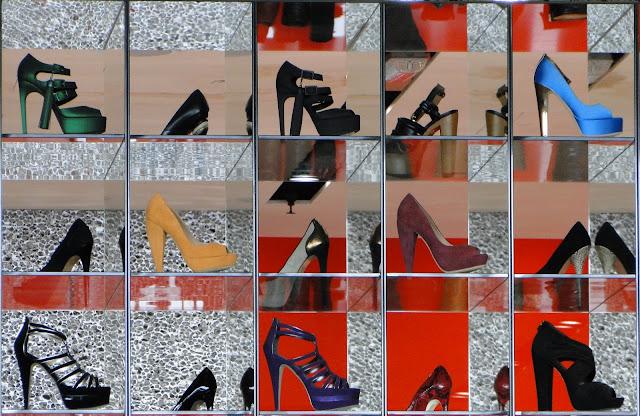 Kurt Geiger Shoe Store, London, Heathrow Airport