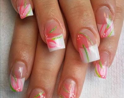 Kawai Wonderland Nail Art Design Color Green