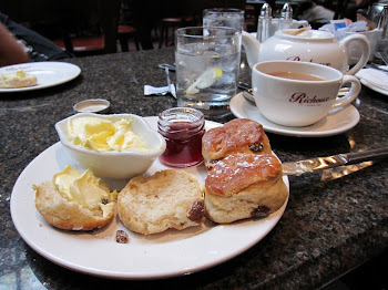 London Tea and Scones