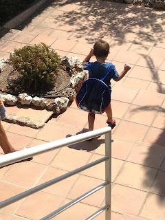 vacaciones, disfraces, verano, hijos, hermanos, piscina