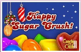 navidad candy crush saga