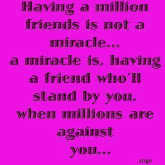 Miracle Friends Quotes Wallpapers