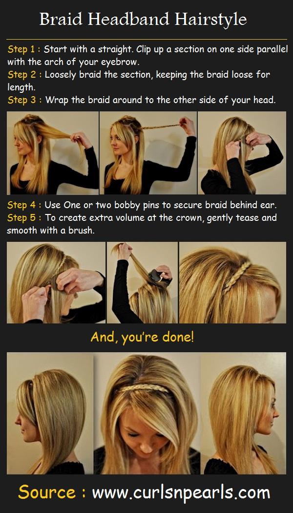 headband braid tutorial - photo #11