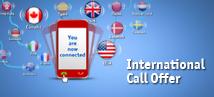 New international call offer