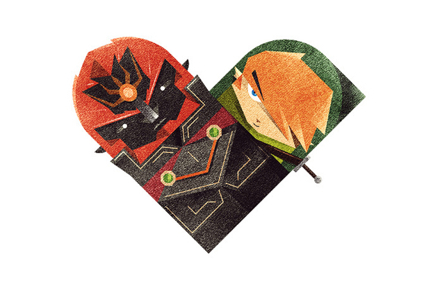 Versus/Hearts by Dan Matutina - The King of Evil & The Elf