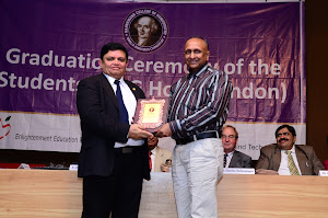 Best Guide Award from Dr Shashimohan Sharma, Principal, Hahnemann College of Homoeopathy, London
