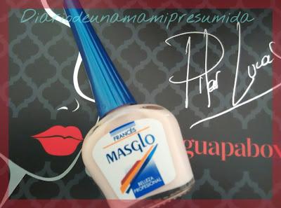 esmalte de uñas masglo