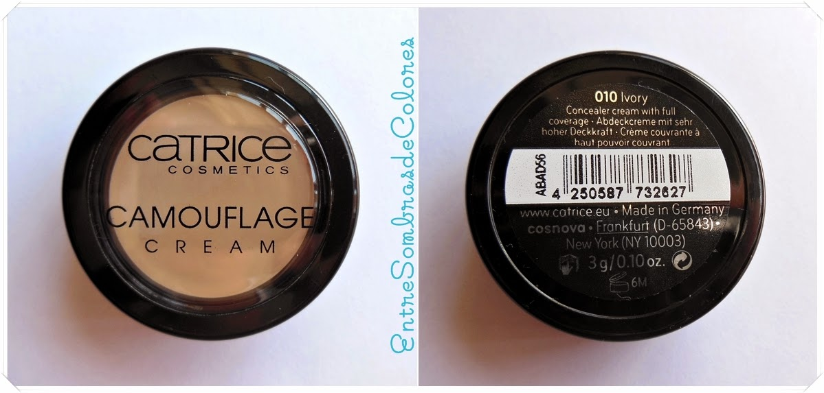 corrector Camouflage cream Catrice