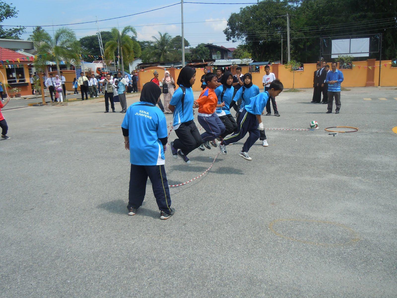 Karnival SKK Zon Utara di SMK Dato' Syed Ahmad, Kuala Nerang, Kedah