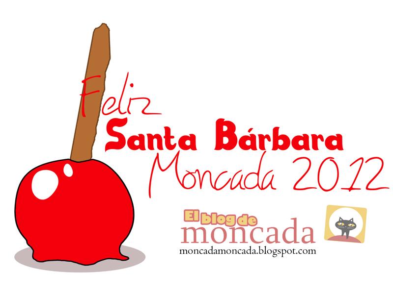 Día de Santa Bárbara Moncada 2012.
