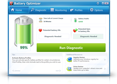 Optimize Your PC Battery Using Battery Optimizer