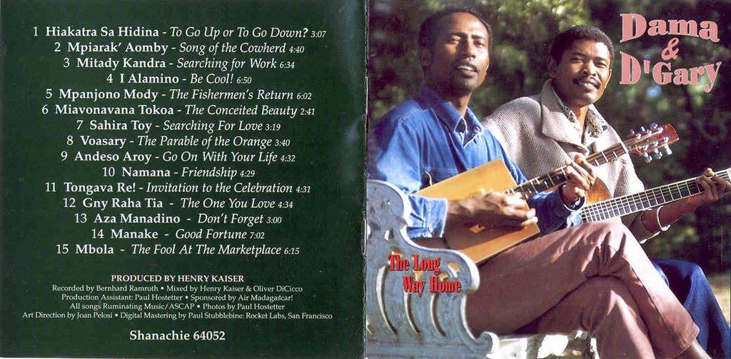 D'Gary - Malagasy Guitar