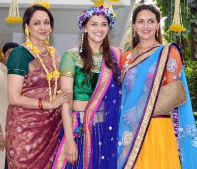 Ahana Deol's Mehndi Ceremony Photos