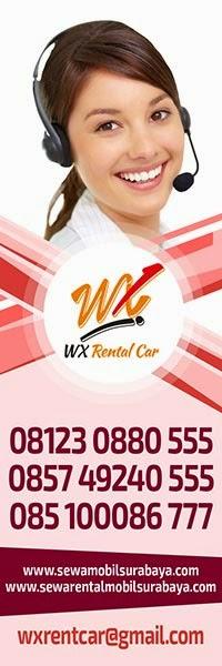 Kontak WX Rent Car Surabaya