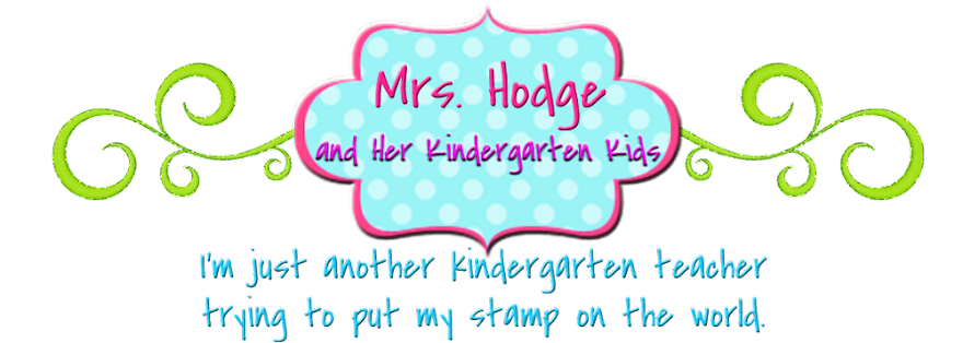 Mrs. Hodge and Her Kindergarten Kids