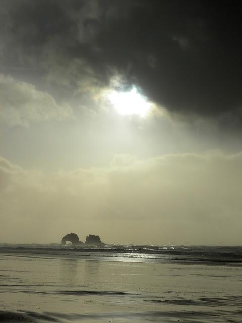 photo of Twin Rocks by Nancy Zavada