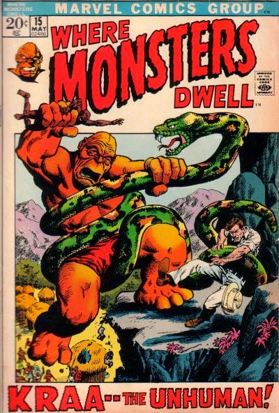 Where Monsters Dwell #15