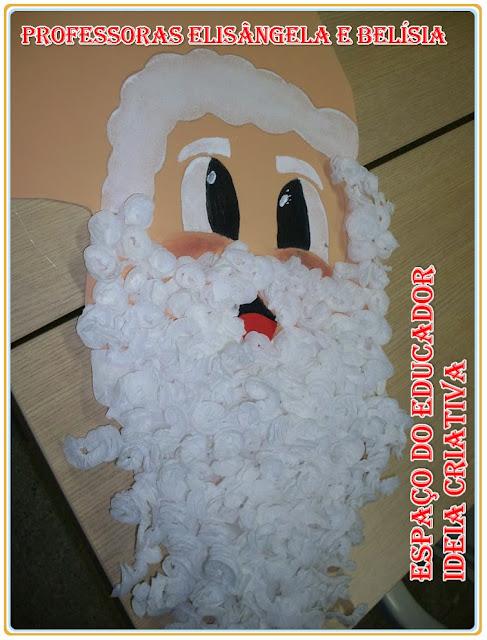 Papai Noel de Caixas de Papelão