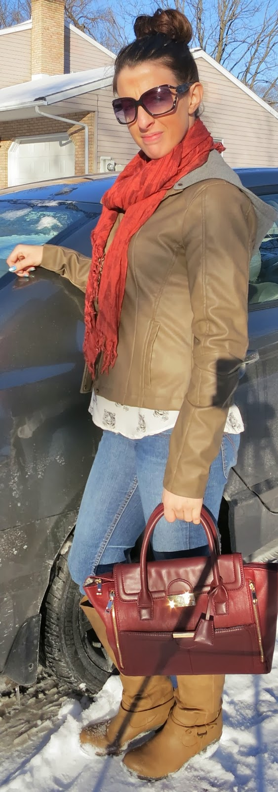 Boots, Fashion, JustFab, Outfit Ideas, outfit of the day, Outfits, what i wore, winter fashion,