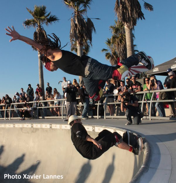 Hardflip, Christian Hosoi, Bennnet Harada, Brian Sumner, Jay Haizlip, Venice Skatepark
