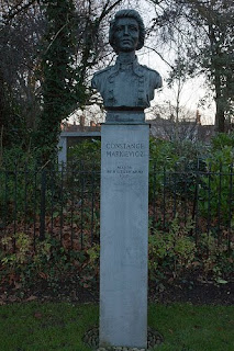 Countess Markiewicz memorial in St. Stephen's Green
