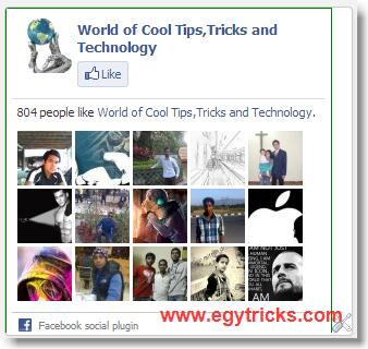 how to Add facebook page like to Blogger Easy