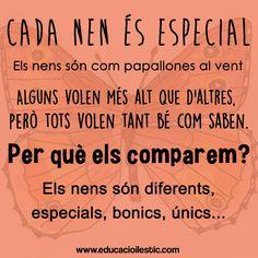 Tots som especials...