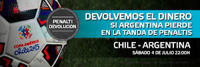 suertia bono 30 euros final copa america Chile vs Argentina 4 julio