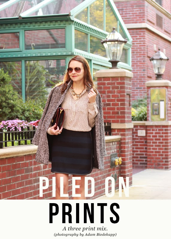 The Steele Maiden: how to mix prints for Fall