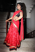 Sowmya glamorous half saree photos-thumbnail-10
