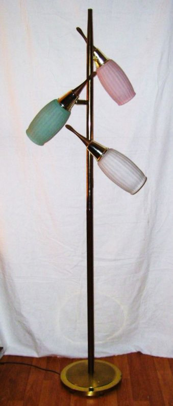 1950 39 s atomic ranch house mid century eames 1950 39 s floor lamp for Eames lampe