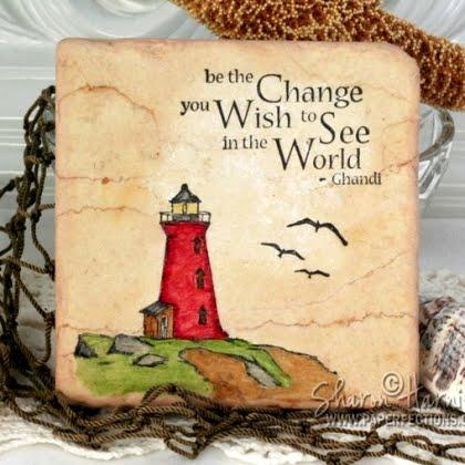 ser a mudança que você deseja ver no mundo